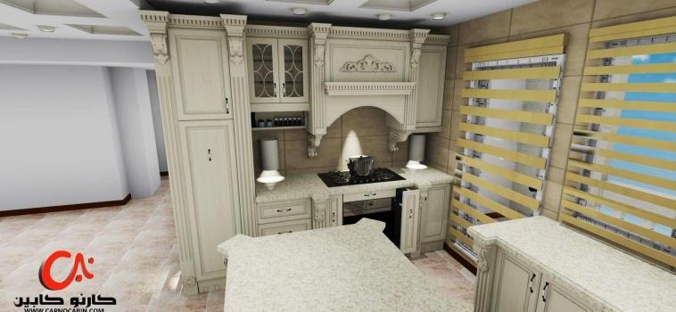 طراحی آشپزخانه ی جناب آقای میگون پور