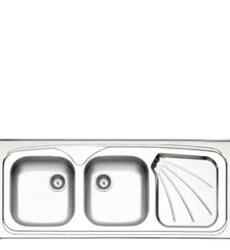 سینک ظرفشویی روکار استیل البرز مدل ۲۷۰/۵۰